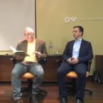 Prof. Carlos Marinho e Dr. Tiago Fleming Outeiro, continuam juntos com a matemática e a ciência.