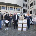 Mulheres chinesas doam 5000 máscaras à Maia
